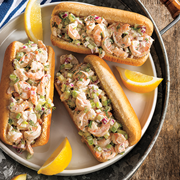 Dilled Shrimp Salad Sandwiches Recipe From Price Chopper