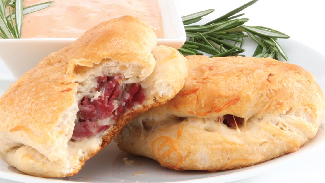 Reuben Stuffed Biscuits Recipe From Price Chopper
