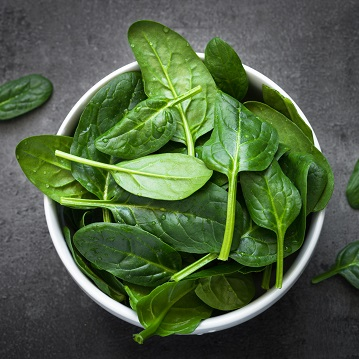 Grilled Spinach - Recipe from Price Chopper