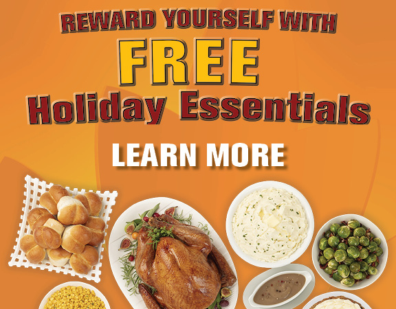 Reward yourself with FREE holiday essentials.