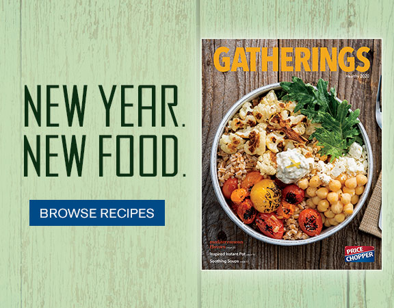 New Year. New Food. Find inspiration for trying new foods with these recipes featuring Mediterranean flavors, Instant Pot ideas & seafood made simple.