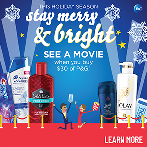 P&G Stay Merry & Bright