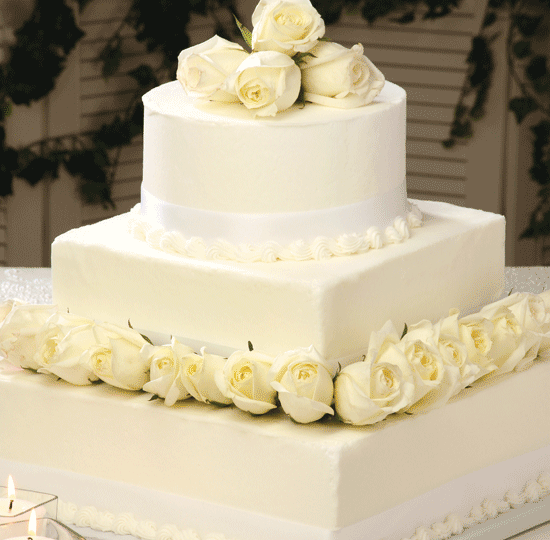 Square Wedding Cake Ideas: Wedding Cakes, Catering & Floral Services
