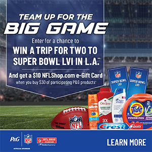 P&G Big Game