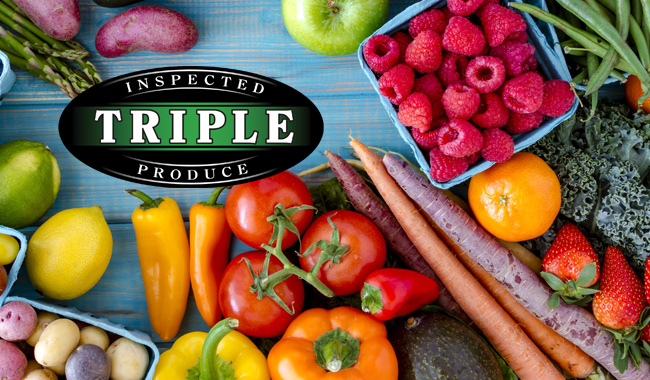 Triple inspected produce medley