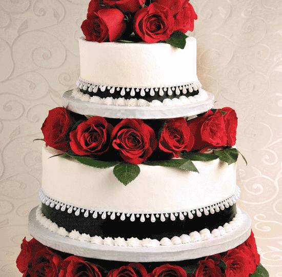 Black And Red Cake Designs Men